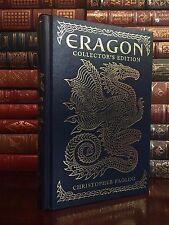 Eragon by Christopher Paolini Collector's Edition New Deluxe & Leather Bound
