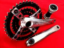 SHIMANO XTR CRANKSET BOTTOM BRACKET 175 FC-M960 44-32-22 RACE BIKE CRANK 9 speed