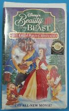 Disney's Beauty and the Beast: An Enchanted Christmas VHS Brand New Sealed