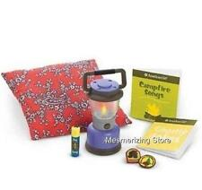 American Girl Today CAMPING - CAMPFIRE ACCESSORIES with Working Lantern in Box