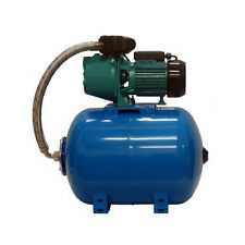 """IBO 1"""" electric centrifugal water BOOSTER PUMP JET100A + 50Ltr PRESSURE VESSEL"""