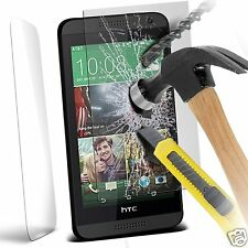 100% Genuine Tempered Glass Film Screen Protector for HTC Desire 610