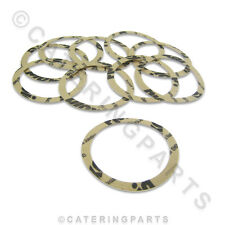 PACKETT OF 10 x PAPER SEAL SHIMS 73x59x0.8mm COFFEE MACHINE PAVONI BART GAGGIA