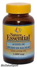 ACEITE DE HIGADO DE BACALAO 1000 MG. 30 PERLAS NATURE ESSENTIAL  NE2321
