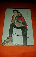 Lee minho min ho  kdrama actor etched yes card photocard kpop k-pop u.s seller