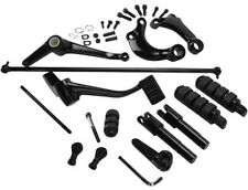 Black Forward Controls With Footpegs For Harley-Davidson Sportster 2014 Up