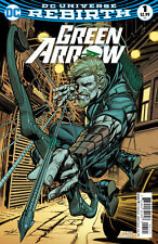 GREEN ARROW #1 VARIANT 1ST PRINTING DC COMICS UNIVERSE REBIRTH NEW  LEGACY