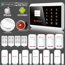 KERUI APP Control Wireless GSM PSTN Home House Alarm Security System Autodial