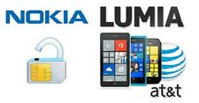 AT&T USA Nokia Lumia Unlock Models CODES 520, 635, 900, 920,1020 ALL MODEL