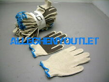 120 Pair Poly/Cotton Stretch PVC Coated ANTI SLIP Palm Work Gardening Gloves NEW