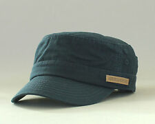 New Genuine Quiksilver Putty Military Cadet Castro Hat Retro Cap Army OSFA DNavy