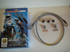 "Goodridge Extended 50"" Stainless Front Brake Line for Harley-Davidson"
