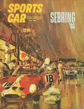 Vintage Sports Car Graphic June 1963 Cover 8 X 10 Auto Art Print Ferrari 250 GTO