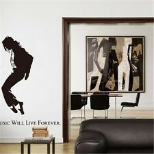 Wall Stickers Michael Jackson Vinyl Wall Stickers Rooms Home Decor DIY Decals