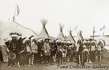 Buffalo Bill's Wild West Show - 1890 - Historic Photo Print