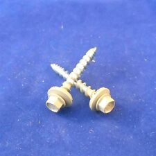 1 1/2in Light Stone Metal Roofing Screws 500pcs