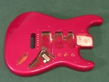Fender Standard Stratocaster Guitar Body - Metallic Red