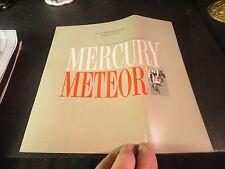 Original 1961 Mercury Meteor Sales Brochure