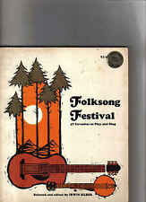 Folksong Fevistval-Music book notes en lyrics