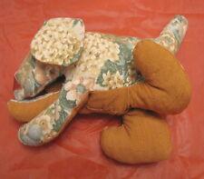Cane in stoffa pezza vintage imbottito di probabile produzione artigianale DOG