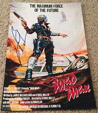 MEL GIBSON & GEORGE MILLER SIGNED AUTOGRAPH MAD MAX 12x18 PHOTO w/EXACT PROOF