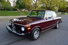 BMW: 2002 2 DOOR SEDAN