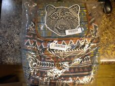 TWIG & ARROW BEAR ICON BACKPACK UNIQUE ORANGE NWT NEW WITH TAGS FREE SHIPPING