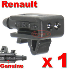 RENAULT MEGANE LAGUNA SCENIC FRONT WINDSCREEN WASHER JETS NOZZLE WATER JET X1