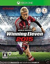 USED Xbox one World Soccer Winning Eleven 2015 JAPANESE  IMPORT MICROSOFT