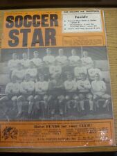 07/10/1966 Soccer Star Weekly Magazine: Vol. 15 No. 04 - Features: Walsall On Co