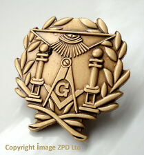 ZP296 Freemason Masonic pin badge Geometry Square Compass Altar All Seeing Eye