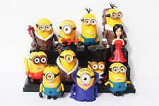 11 pcs Minion Large Figures Toy Set with LED Light (USA SELLER FAST SHIPPING)