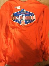 Boise State 2014 Vizio Fiesta Bowl Men's Long Sleeve Shirt XXL Orange Tee NWT
