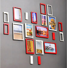 3D luxury decorative oblong family photo picure wall frame