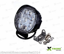 9 Cree LED 27w Fog DRL Off Road SUV Bar Light For Jaguar XFS