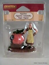 Lemax 2011 Christmas Village Accessories-Woman W/ First Prize Pumpkin Figurine