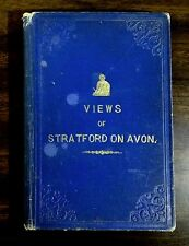 1864 STRATFORD UPON AVON THE HOME OF WILLIAM SHAKESPEARE Illustrated view book
