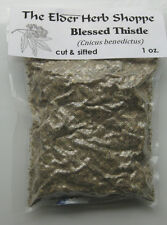 Blessed Thistle Herb Cut & Sifted 1 oz- The Elder Herb Shoppe