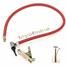 New Universal Bicycle Portable Mini Hand Air Pump Tube Hose Head Replacement Hot