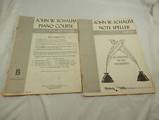 John W. Schaum Piano Course and Note Speller Book One