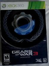 Gears of War 3 Limited Edition - Brand New Sealed - Xbox 360  BRAND NEW
