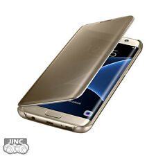 Genuine Original Samsung SM-G935F Galaxy S7 EDGE Clear View Cover Case Pouch