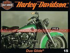 HARLEY DAVIDSON FL 1200 Duo Glide Biketoberfest DAYTONA Pub Ad Sportster MOTO