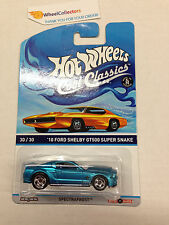 '10 Ford Shelby GT500 Super Snake * ORANGE OTTO * Hot Wheels Cool Classics * Y80