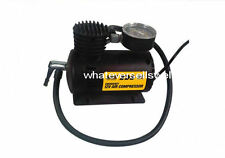 Emergency 12v AIR COMPRESSOR Tyre Inflator Pump bicycle motorbike car