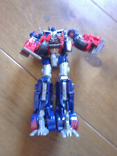 BATTLE DAMAGED OPTIMUS PRIME TRANSFORMERS 8 INCH MISSING WEAPONS CAB ONLY