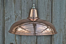 Beautiful vintage styled copper ceiling light hanging lamp shade pendant NCSR4