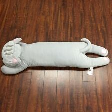 Long Body Pillow - Grey Cat (L) Tokyo Japanese Lifestyle Exclusive
