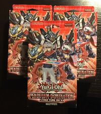 Yu-Gi-Oh Pendulum Domination Structure Deck X3 - In Stock