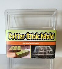 Magical EASY BUTTER MAKER MOLD with Lid - FORMS and STORES 1,2,3 or 4 Sticks